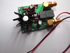 W7IUV preamplifier PCB