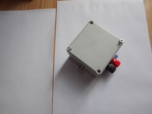 W7IUV preamplifier ready for use